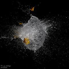 Fotografa de alta velocidad 3 (@ngel Prez Rodrigo) Tags: agua globo altavelocidad explosin
