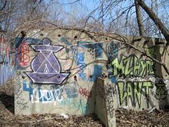Lantern (Randall 667) Tags: street urban art abandoned island graffiti artwork artist hiv exploring dump hyde writer lantern rhode cumberland lant mz ohmy tagger koed kfw