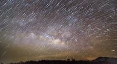 Stars rain over the Milky Way....@ Araku. (dr a k) Tags: night astrophotography startrails milkyway araku visakhapatnam arakuvalley easternghat