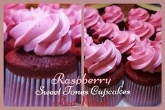 Raspberry-Red Velvet Cupcakes-Sweettonescupcakes (Sweet Tones Cupcakes) Tags: cupcakes losangeles cupcake raspberry stc redvelvet redvelvetcupcakes gourmetcupcakes raspberryredvelvetcupcakes sweettonescupcakes sweettonescc cupcakology