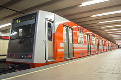 C.N.C.F. NM-73 B Cabina CAF en lnea 6 del STC Metro (Roberto Tirado - Fotografa) Tags: df metro stc caf linea6 cncf concarril nm73 nm73b cabinacaf