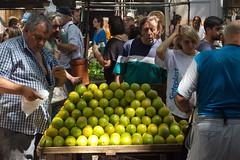 Street market (chipje) Tags: street people fruit uruguay market montevideo