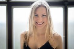 Laura (ecker) Tags: portrait woman laura window zeiss linz availablelight fenster sony naturallight indoor portrt 55mm portraiture frau a7 gegenlicht sonnar carlzeiss sel55f18z sonnartfe55mmf18za