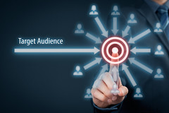 Targeting Your Main Audience (jonahengler) Tags: blue people man money male businessman marketing audience market group selection mining business relationship management virtual target data segment customer leader push click aim choice targeting concept saving care conceptual press executive client success leadership solution strategy consumer touchscreen crm solve datamining marketer segmentation specialist jonahengler