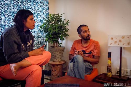 Pallavi i Paritosh, którzy gościli nas w Delhi