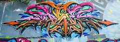 Street Art - Pointe à Pitre - [Guadeloupe] (Thierry CHARDES) Tags: france graffiti tag drawings caribbean graff guadeloupe antilles wildstyle caraïbes artdelarue arturbain peinturemurale sigma1750mmf28