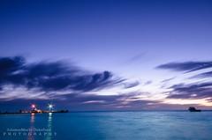 Camping view (JamieMarie Oaksford) Tags: ocean longexposure sunset sea seascape landscape boat jetty australia coastline cervantes westernaustralia blurryclouds nikond7000 beachphtography