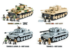 COBI Tiger 1 Comparison (Adam Purves (S3ISOR)) Tags: world berlin brick museum 1 war tank lego o military tiger wwii bob battle german ww2 block comparison cobi panzer 131 the bovington bitwa wehrmacht 2477 2462 2436 i