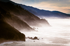 Big Sur (Steffen Walther) Tags: ocean california travel sea usa mist mountain seascape fog canon landscape coast bigsur shore 70200 pacifiic steffenwalther