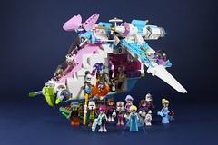 Republic friendship-1 (LEGO 7) Tags: friends starwars republic lego gunship