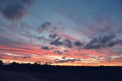 234 (Go) Tags: pink sky orange clouds tramonto rosa sfumature