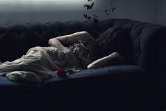 Broken dreams (Sus Blanco) Tags: selfportrait broken redrose dreams conceptual