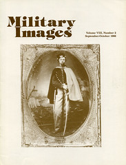 Military Images magazine cover, September/October 1986 (militaryimages) Tags: history infantry mi america magazine soldier photography rebel us marine uniform photographer unitedstates military union navy archive confederate worldwari civilwar american weapon tintype ambrotype artillery stereoview cartedevisite sailor ruby veteran roach daguerreotype yankee cavalry neville spanishamericanwar albumen mexicanwar coddington backissue citizensoldier indianwar heavyartillery matcher findingaid militaryimages hardplate