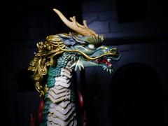 The Qilin in Profile (ridureyu1) Tags: toy toys actionfigure qilin kirin kaiyodo toyphotography revoltech jfigure holybeast sonycybershotsonycybershotdscw690 kaiyodotakeyashikijizaiokimono