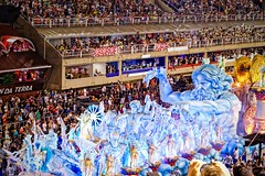 Neptune's Wrath (Rice Bear) Tags: carnival brazil rio brasil riodejaneiro br feathers carnaval float neptune floats carioca bikinis sambadromo sambadrome carnival2016 riocarnival2016