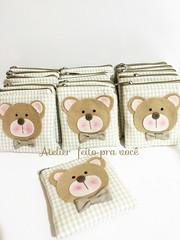Porta moedas Ursinho (Ana Ribeiro2010) Tags: lembrana beb feltro urso nascimento maternidade ursinho lembrancinha portamoedas