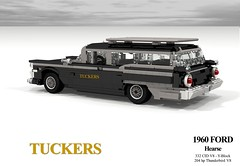 Ford 1960 Galaxie Hearse (Tuckers Funeral Service - Geelong, Australia) (lego911) Tags: auto life ford car death model lego render australia company 101 1950s motor 1960s thunderbird challenge hearse v8 galaxie cad 1959 lugnuts geelong 1960 povray matter tuckers moc ldd miniland amatteroflifeanddeath lego911