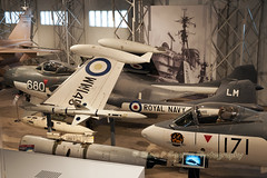 SEA-VENOM-FAW2R-LM-680-WW145-10-4-16-EAST-FORTUNE-MUSEUM-OF-FLIGHT (Benn P George Photography) Tags: museumofflight gr1 harrier 10416 seahawk eastfortune 3677 seavenom xv277 wf259 ww145 mig15bissb bennpgeorgephotography
