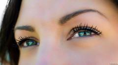 Une envie d'y plonger pour n'en jamais revenir (Lalykse) Tags: blue woman look 35mm eyes eyelashes skin jessica blueeyes femme yeux bleu eyebrows peau regard nikond3200 sourcils cils yeuxbleus emvaphotography