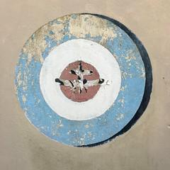 Roundel IMG_3656 (szczel) Tags: mod symbol air aeroplane scouts bluecircle croydon raf 44th roundel reddot dropshadow