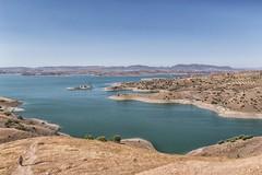 Al Wahda Dam, Morocco, North Africa (Eye of Phil) Tags: alwahdadam morocco noth africa holiday vacation 2015 arab arabic lake dam water sky people man