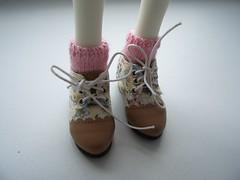 Handmade MSD Socks (DaeRiin) Tags: socks handmade bjd msd knitwear commissions