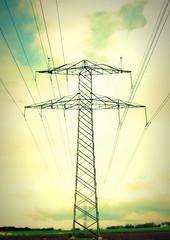 electric sky (Henrik Bidstrup Jrgensen) Tags: sky clouds landscape denmark wire power view himmel olympus powerpole skyer udsigt e510 ledninger elledninger elektricitet elmast hjeds electricality lanndskab