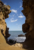 Window (Mariane's Tree) Tags: france spring wave atlanticocean biarritz basquecoast