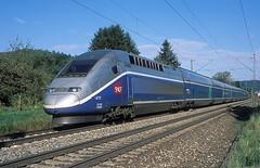 4711  Salach  11.08.13 (w. + h. brutzer) Tags: france analog train nikon frankreich eisenbahn railway zug trains tgv sncf 4700 eisenbahnen salach triebzug triebzge webru