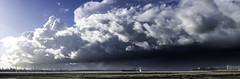 Stormy Hamble Pano3 (chris.willis3) Tags: uk sky panorama water rain weather clouds ship stormy hampshire shore stitched hamble nikond5200 chriswillis3