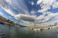 Port de Barcelona (Zeller Roland) Tags: barcelona es catalua spanien royalbarcelonamaritimeclub