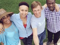 """With the team from @mahwa Incredible org ""living peace project"". Big plans ahead #Drc  @jeremygilleypod #DRCongo #Goma livingpeace #peaceoneday #JeremyGilley  #northKivu #SouthKivu #Lackivu #Lakekivu #greatlakes #Rwanda #Tanzania #Kenya #Congo #Burundi (samarkhouryofficial) Tags: tanzania kenya goma greatlakes rwanda congo drc burundi peaceoneday drcongo lakekivu lackivu northkivu southkivu jeremygilley livingpeac"