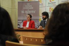 FOTO_Lectura del Quijote_4 (Pgina oficial de la Diputacin de Crdoba) Tags: de ana quijote rueda prensa carrillo lectura
