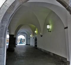 Chur (micky the pixel) Tags: schweiz switzerland suisse architektur chur lantern passage rathaus laterne altstadt sule graubnden gewlbe grischuna