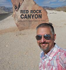 Ken / Red Rock Canyon (kenjet) Tags: redrockcanyon me nature self landscape desert natural nevada ken canyon redrock kenny preserve selfie nationalconservationarea kenjet
