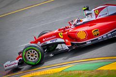 Kimi Raikonnen. 2016 Australian Grand Prix (Dom Puglisi) Tags: ferrari kimiraikonnen scuderiaferrari australiangrandprix