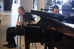 Luca Luciano (2016) 05 - with Bruno d'Ambra (KM's Live Music shots) Tags: italy piano jazz clarinet southbankcentre fridaylunch westernclassicalmusic lucaluciano brunodambra