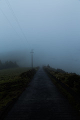 Spectral (Steve Vallis) Tags: road mist portugal fog ghostly azores