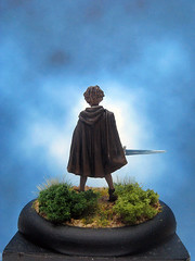 Painted Darksword Miniature Arya Stark on the Run. (Painted Miniatures) Tags: miniature painted run arya stark darksword