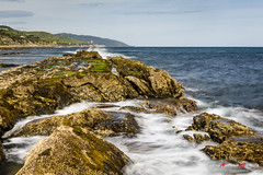 Torre de Guadalmesi. (Antonio Camelo) Tags: sea sky rock nikon silk seda roca