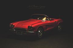 1962 Chevrolet Corvette Convertible in Roman Red (aJ Leong) Tags: red chevrolet roman convertible corvette 1962 118 autoart