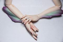 Fairyland Fairyline hands with fins (AnnaZu) Tags: hands doll makeup bjd fairyland sia fins blushing faceup minifee annaku anazu fairyline
