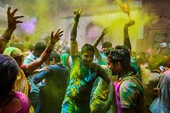 Dance | Holi (SaumalyaGhosh.com) Tags: people color festival fun dance nikon joy celebration holi enjoyment d610 festivalofcolors