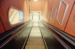 Escalator in Stockholm's Central Station (Mister.Marken) Tags: urbanlandscape escalator rulltrappa publicemptiness emptyshot
