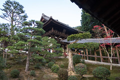 Tofukuji temple, Tsutenkyo and Kaisando, Kyoto (Christian Kaden) Tags: japan temple kyoto tofukuji 京都 日本 kioto kansai tempel 関西 お寺 foundershall 仏教 開山堂 東福寺 仏閣 kaisando templebuildings gründerhalle かいさんどう tempelgebäude