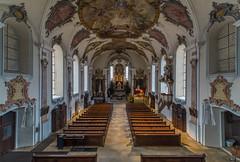 Kirche St. Maria (16mm) (Hebe.Photography) Tags: church sony kirche tokina adapter 28 16mm aalen 1628 stmaria unterkochen ostalb a7r