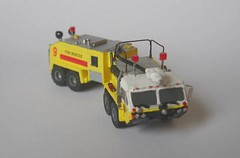 Crash9 (8) (Joachim Gundlach) Tags: rescue fire firetruck vehicle fireengine custom feuerwehr kitbash modellbau nscale 1160 arff kitbashing kitbashed 1zu160