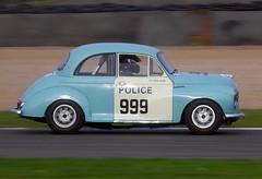 1958 Morris Minor (WH 1212) 1300cc - Chris Rea - HRDC Touring Greats - Donington Park (anorakin) Tags: 1958 morrisminor 1300cc chrisrea doningtonpark hrdctouringgreats wh1212