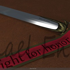 Fight for Honor (micha10811) Tags: for fight banner honor schwert