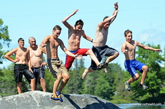 teens-canoe-trip-Maine